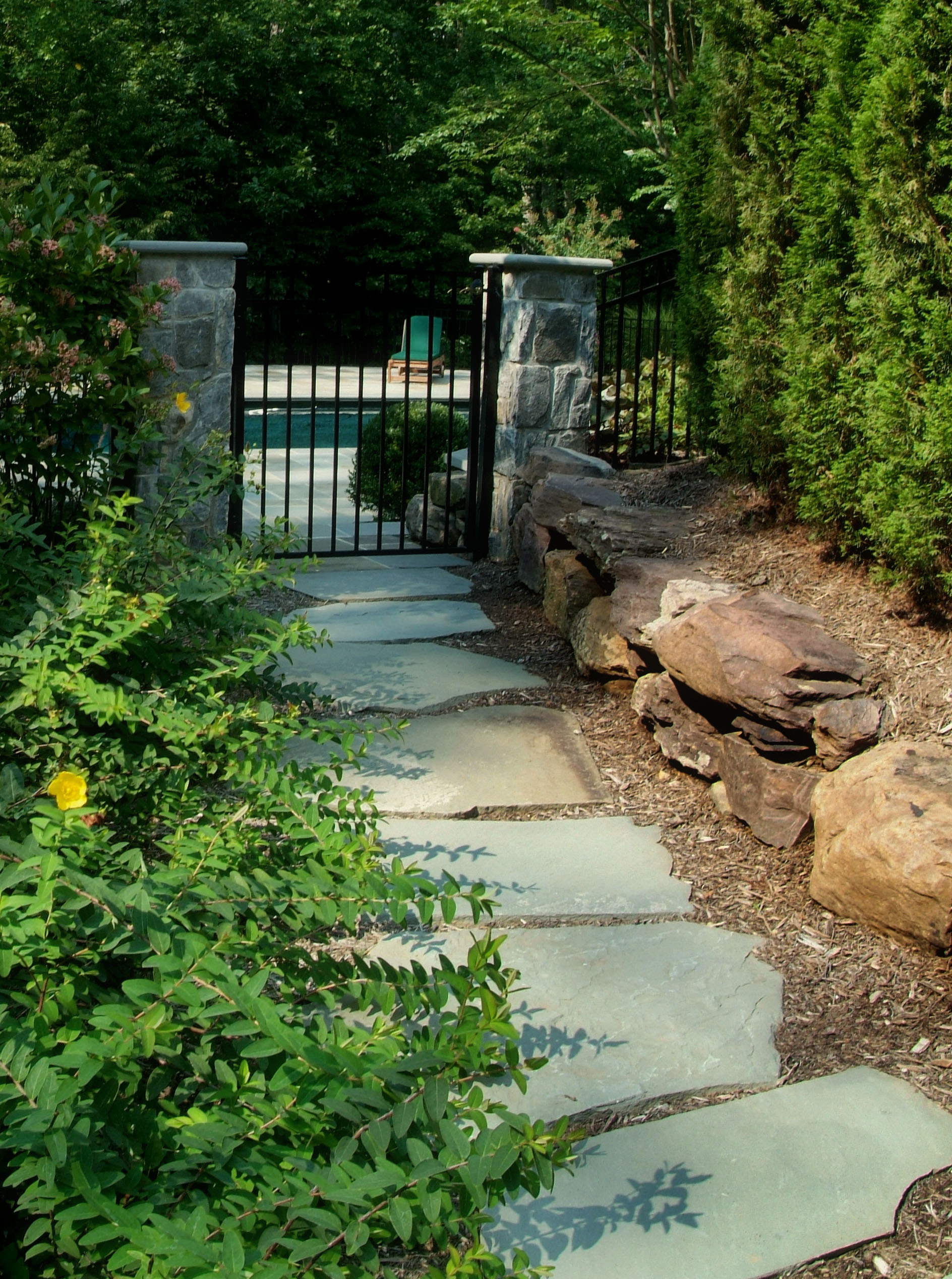Pathways Amp Steppers Sisson Landscapes