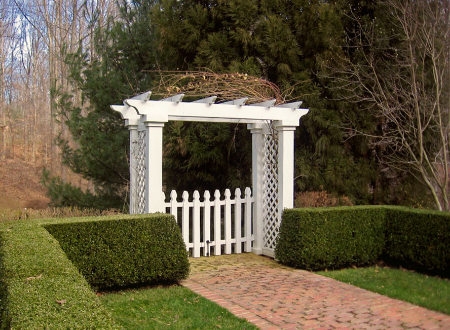 woodwork arbor with gate plans pdf plans