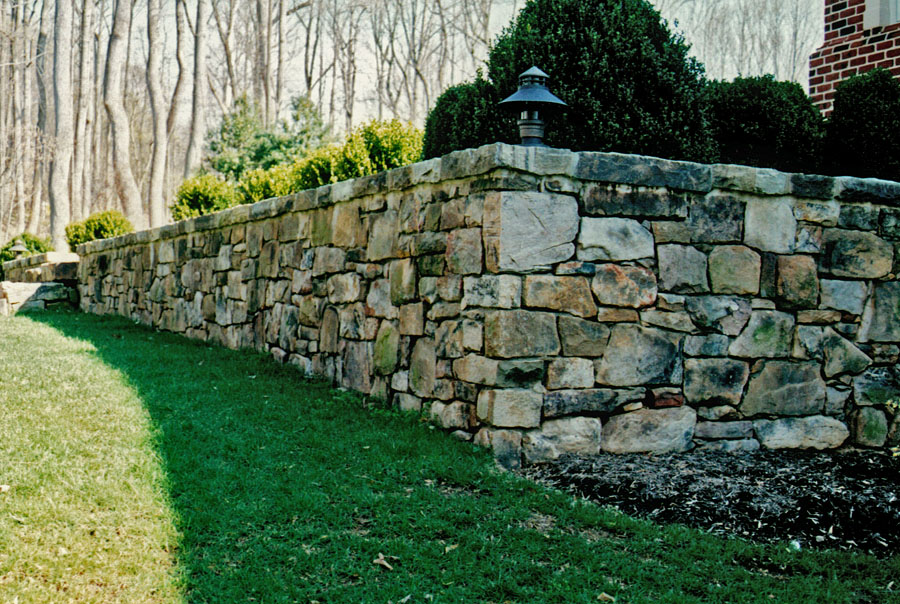 Gallery For Natural Stone Retaining Wall Design