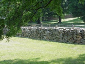 civil war wall 300x225 Connect to history with Dry Stone Walls