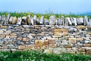 cotswold limestone wall 300x203 Connect to history with Dry Stone Walls