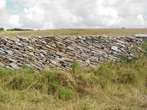 diagonally laid wall 300x225 Connect to history with Dry Stone Walls