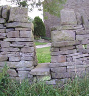 dry stone gap stile2 Connect to history with Dry Stone Walls