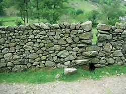 dry stone step stile Connect to history with Dry Stone Walls