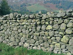 dry stone wall river cobbles Connect to history with Dry Stone Walls