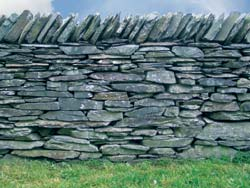 dry stone wall slate Connect to history with Dry Stone Walls
