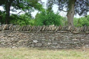 fieldstone wall kentucky 300x200 Connect to history with Dry Stone Walls