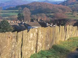 standing stone wall Connect to history with Dry Stone Walls