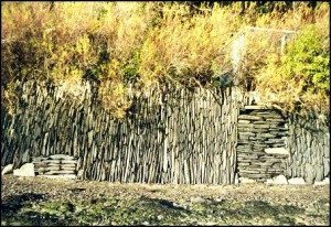 vertical stone wall 300x206 Connect to history with Dry Stone Walls
